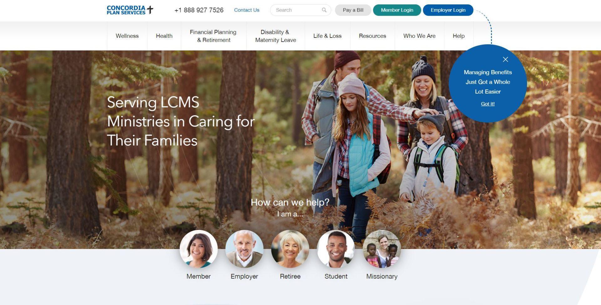 пример сайта страховой компании